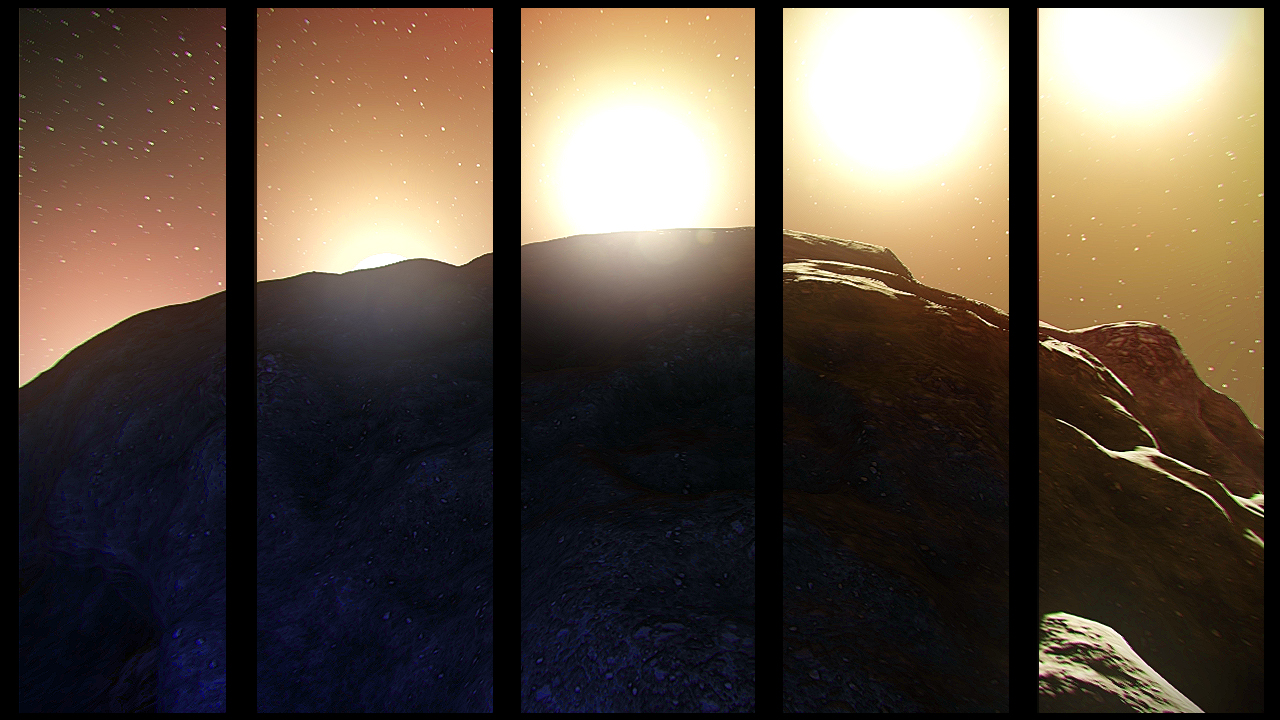 Blackspace Sunset