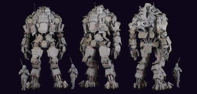 Titanfall titan atlas