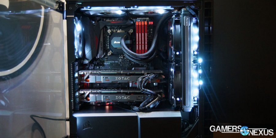 how to install hdd in a gamin pc build