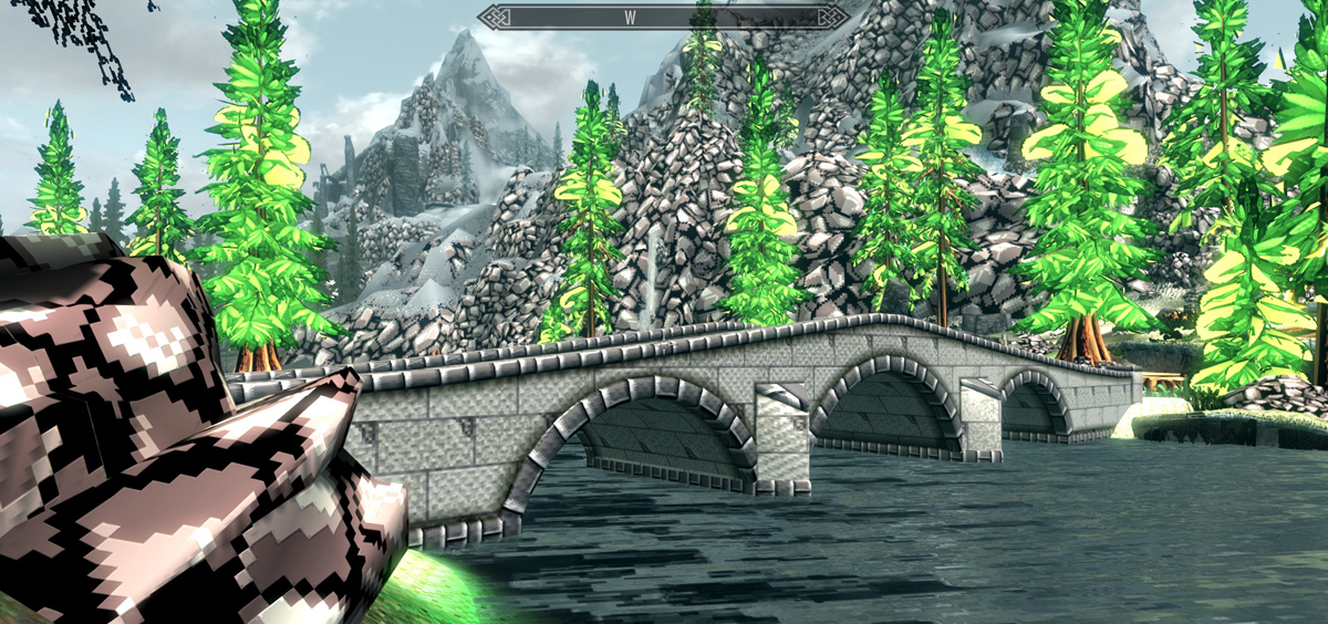 Play Skyrim in Retro Graphics Mode | GamersNexus - Gaming PC