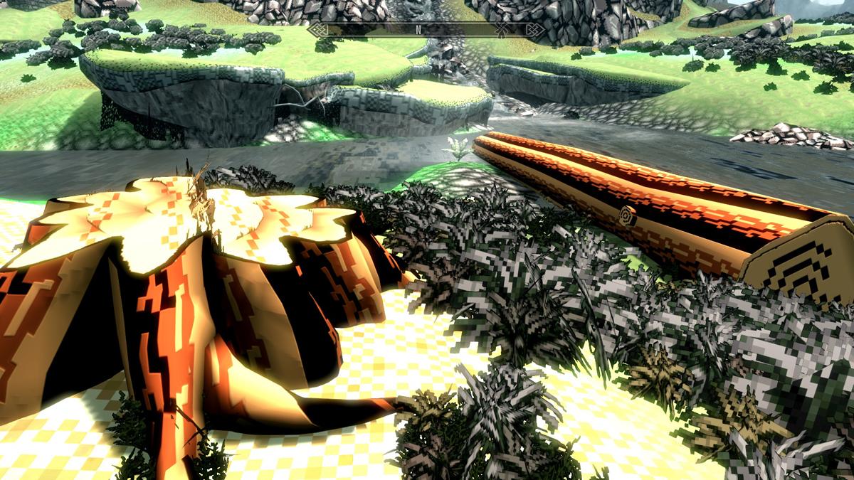 Play Skyrim in Retro Graphics Mode   GamersNexus - Gaming PC