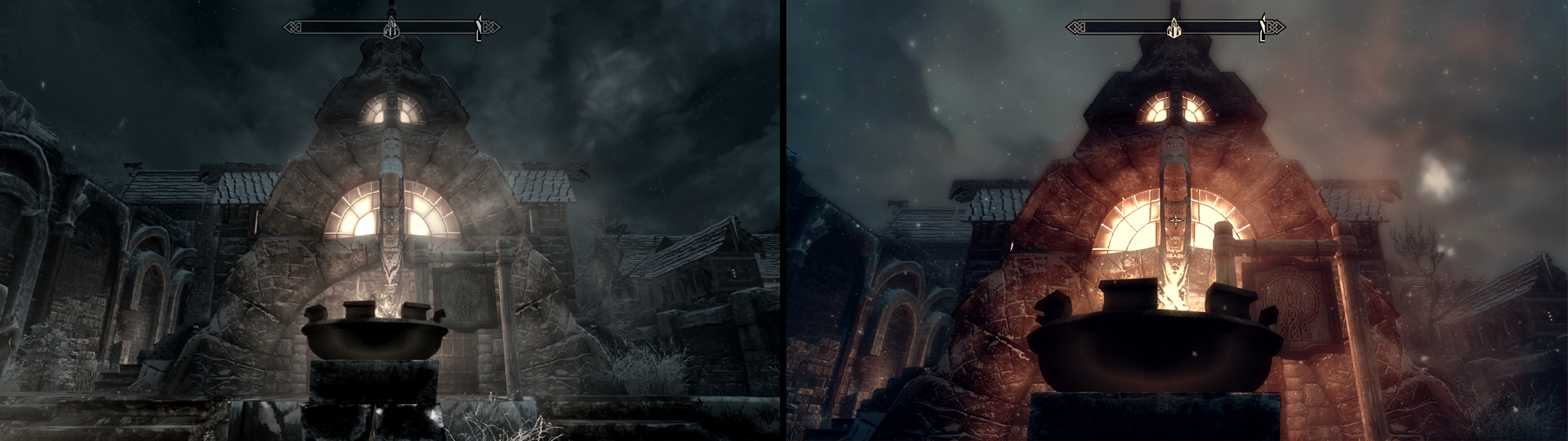 best skyrim graphics mods before and after gamersnexus gaming