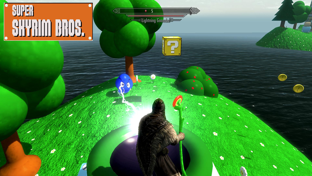 super skyrim bros mario mod for skyrim gamersnexus gaming pc