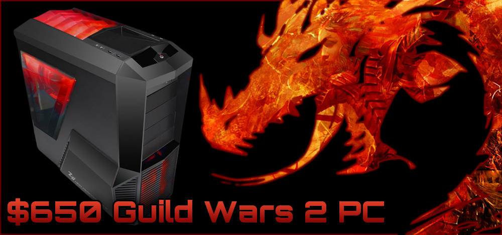 $650 Guild Wars 2 Budget Gaming PC Build - June, 2012