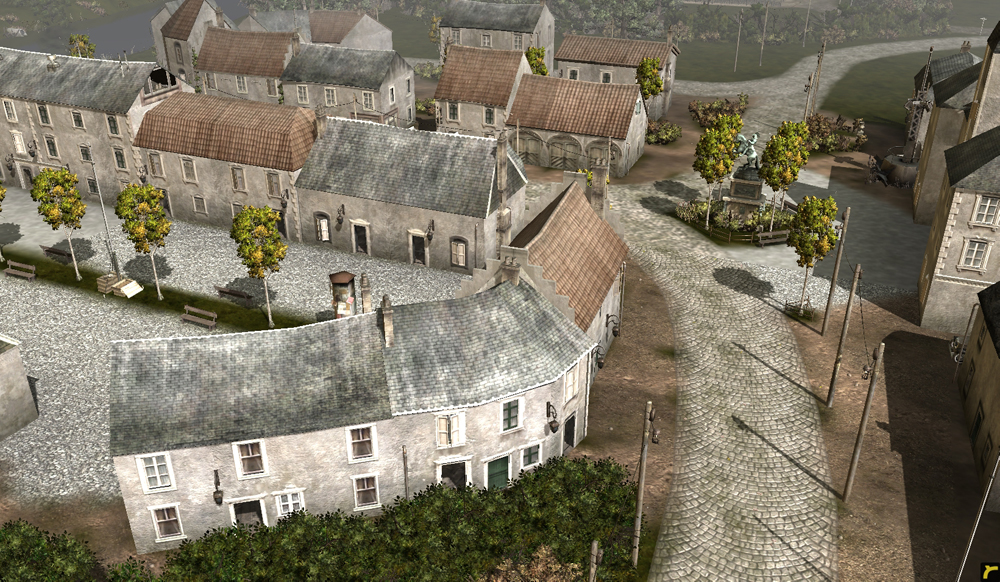 Clearing The Cobwebs Company Of Heroes Maps Mods Gamersnexus