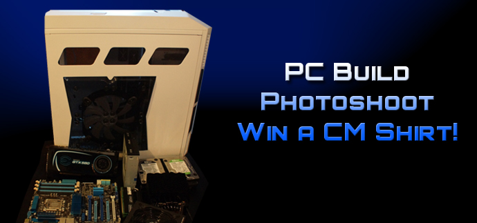 Contest: PC Build Photoshoot - Win a HAF X T-Shirt