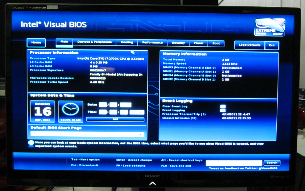 Intel V-BIOS, SSD, and Z77 Tech Hands-On - PAX East 2012