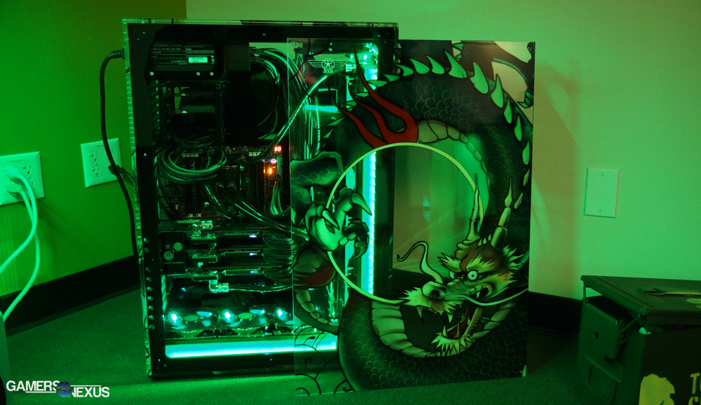 nvidia silicon failure analysis lab video tour gamersnexus gaming pc builds hardware. Black Bedroom Furniture Sets. Home Design Ideas