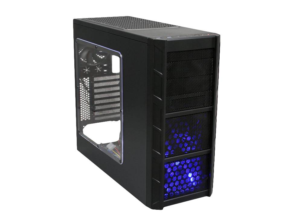 New: Budget Rosewill Patriot Gaming Case Specs