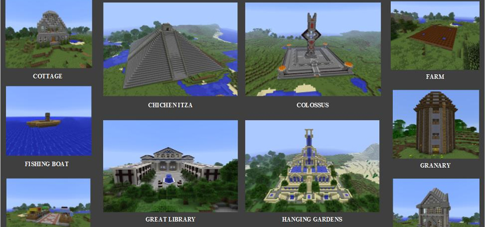Civilization in Minecraft: CivCraft Mod Now Available