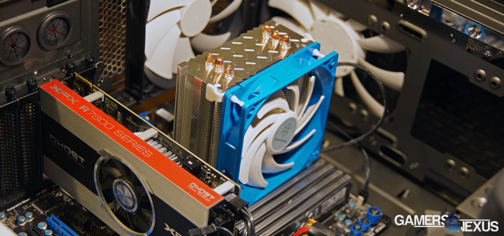 "SilverStone Argon AR01 CPU Cooler Benchmark-Review | The New ""Best"""