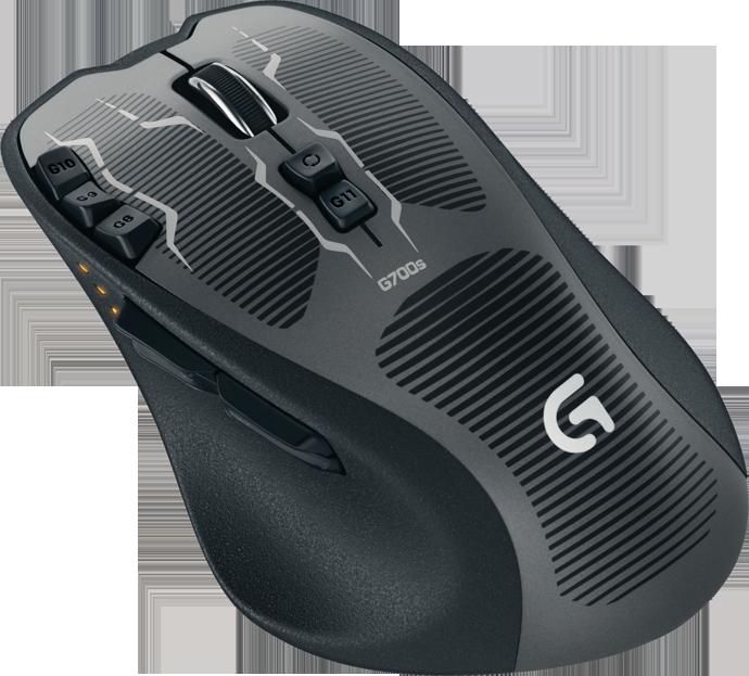 New Logitech Peripherals - G700s, G500s mice