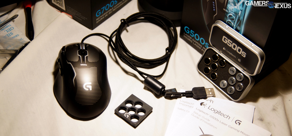 Logitech G500s Gaming Mouse Review & Specs