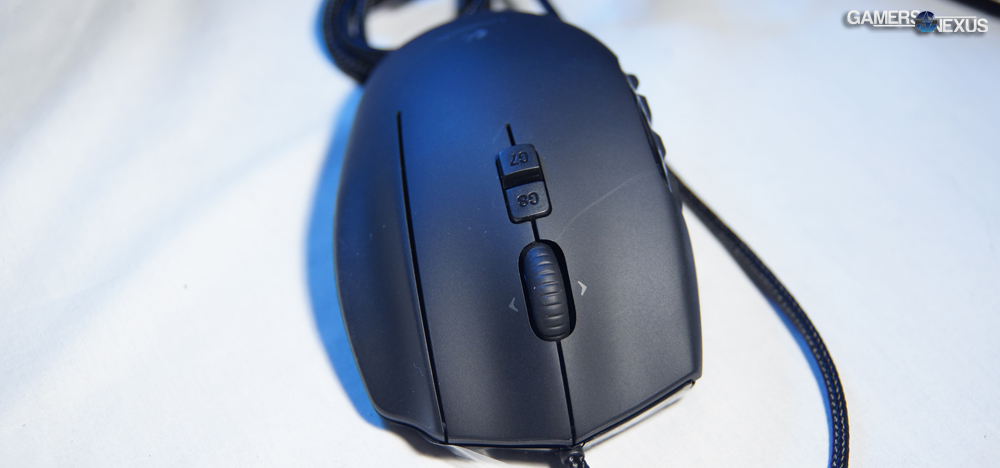 Logitech G600 MMO Gaming Mouse Review | GamersNexus - Gaming