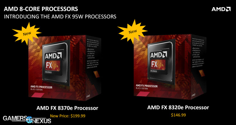 New Amd Fx 8370 8370e 8320e Specs Fx 9590 Price Drop