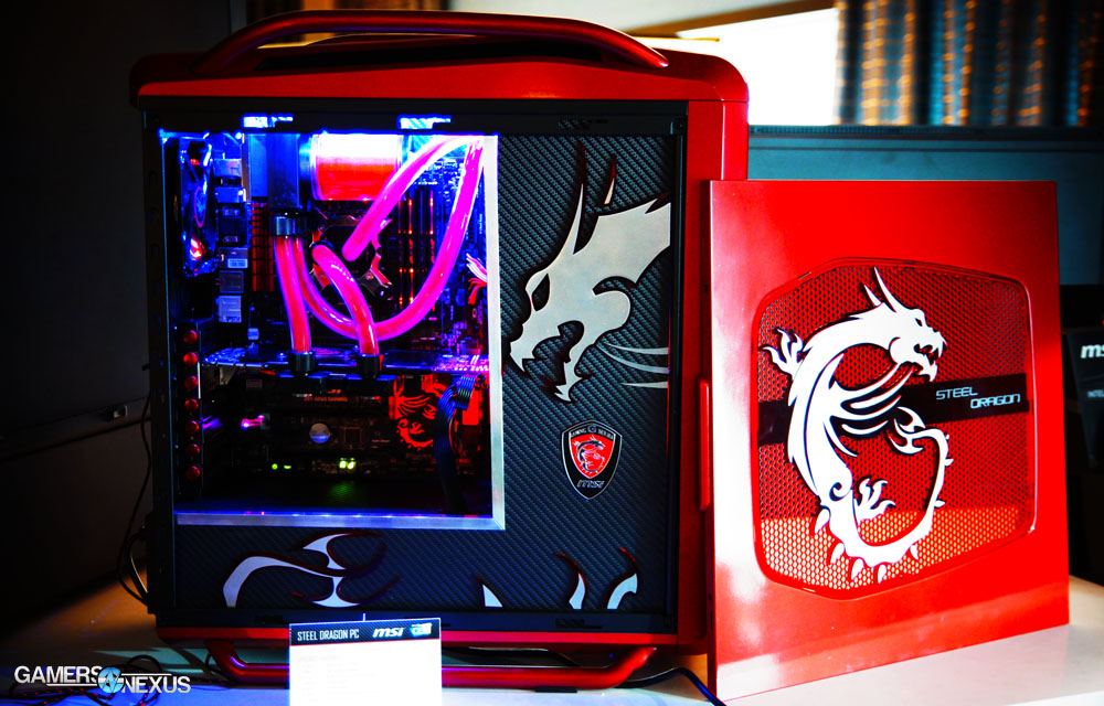 The Best Gaming PC Cases of CES - 2014 Case Round-Up