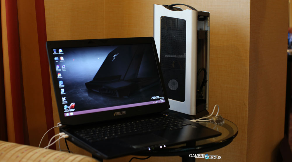 SilverStone / ASUS SG Station 2 External Thunderbolt Video Card Hands-On