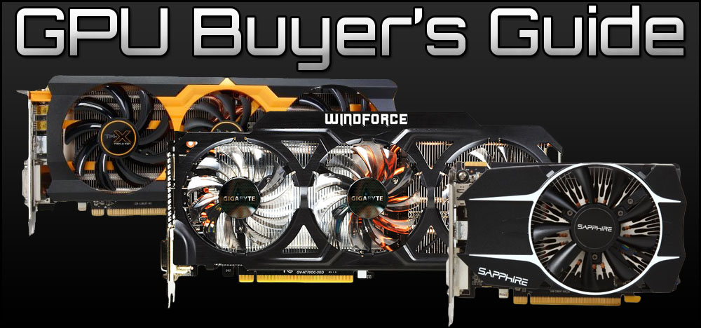 Best Graphics Cards for Gaming - Black Friday Buyer's Guide, 2014