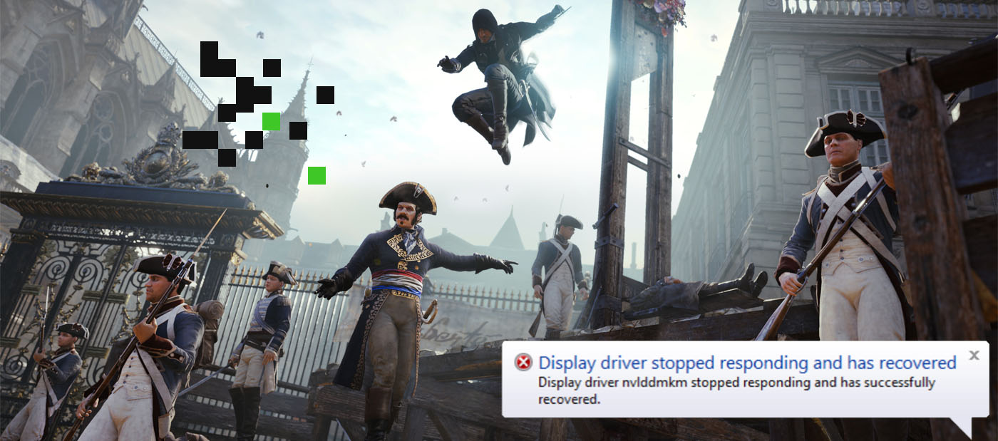 Assassin's Creed Unity Crash Fixes: Black Screens, Lag