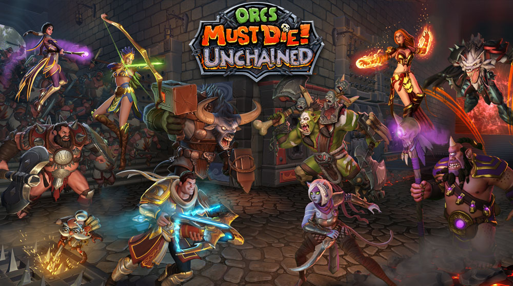 Orcs Must Die! Unchained: Gameplay Footage, Interview, & MOBA/RPG Mix