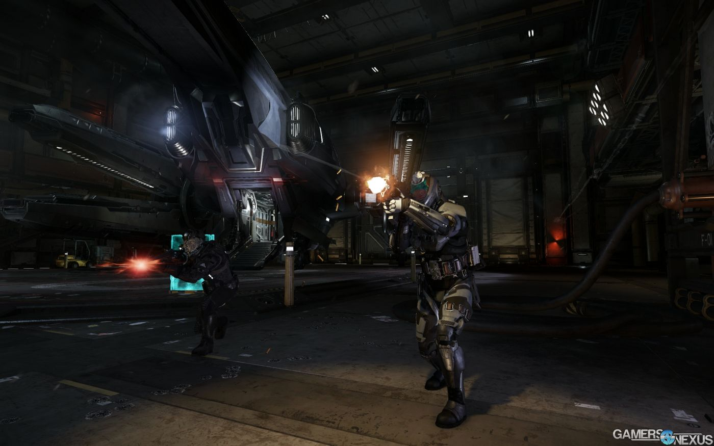 Star Citizen Fps Module Screenshots Gameplay Preview Gamersnexus Gaming Pc Builds Hardware Benchmarks