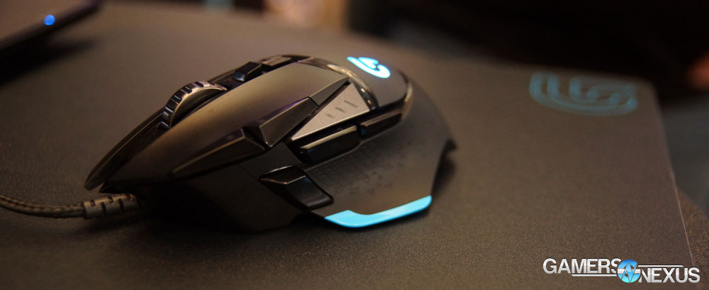 PAX East: Logitech G502 Proteus Core Gaming Mouse Hands-On - Switch Tech, More