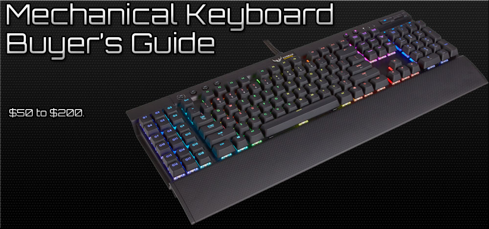 Best Mechanical Keyboards for Gaming - 2014 Buyer's Guide