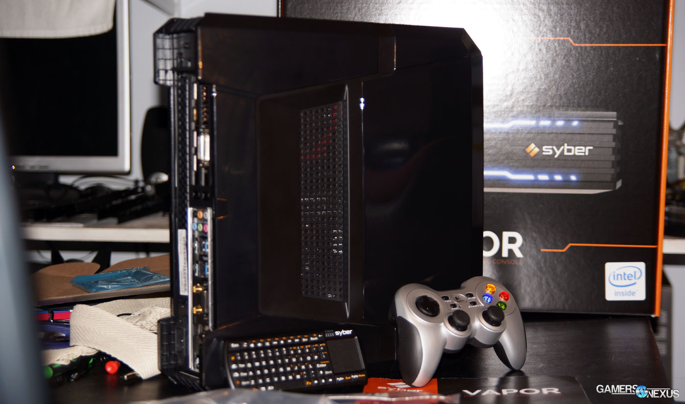 Syber Vapor Xtreme PC Aims to Displace Consoles – Benchmark & Review