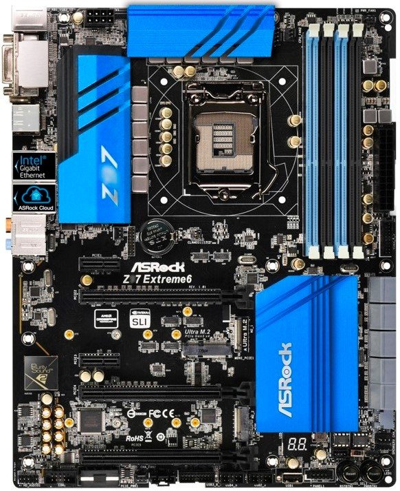 asus all series motherboard specs