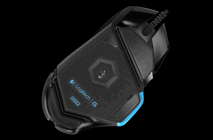 Logitech G502 Proteus Mouse Specs - Eliminates Smoothing