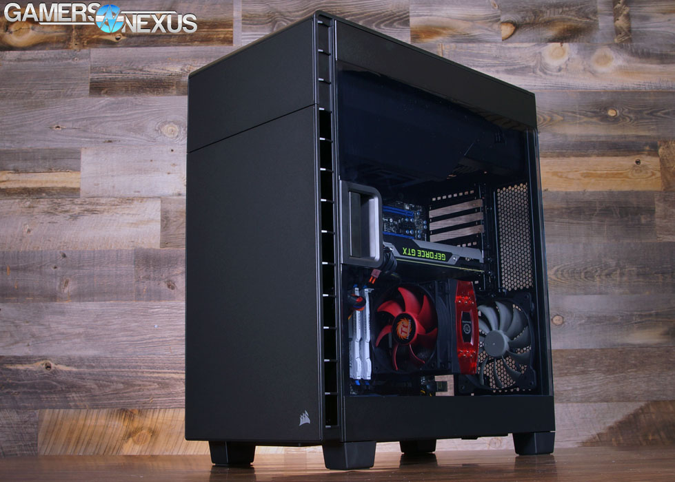 Corsair 600c Case Review Cooling Domination With Inverted