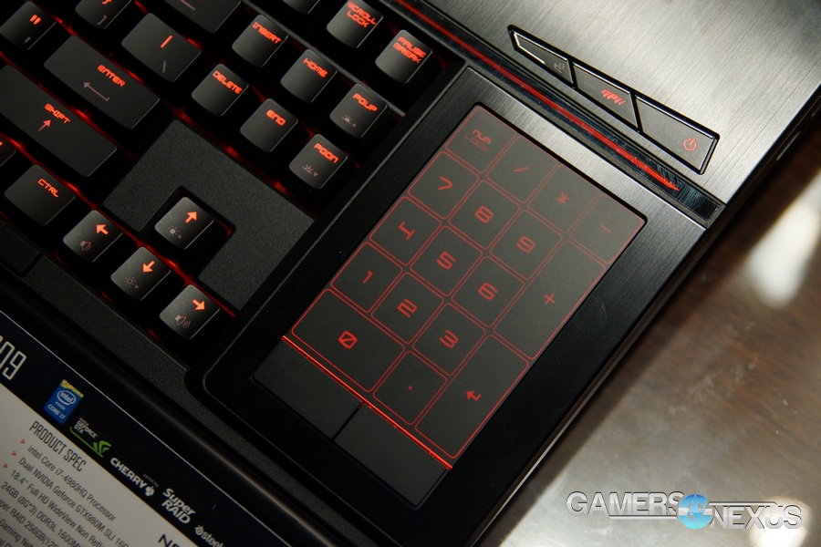 World's First Laptop with a Mechanical Keyboard: MSI GT80