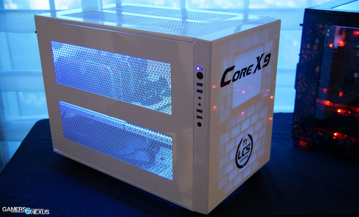Thermaltake Core X9 Case An Open Playground For System