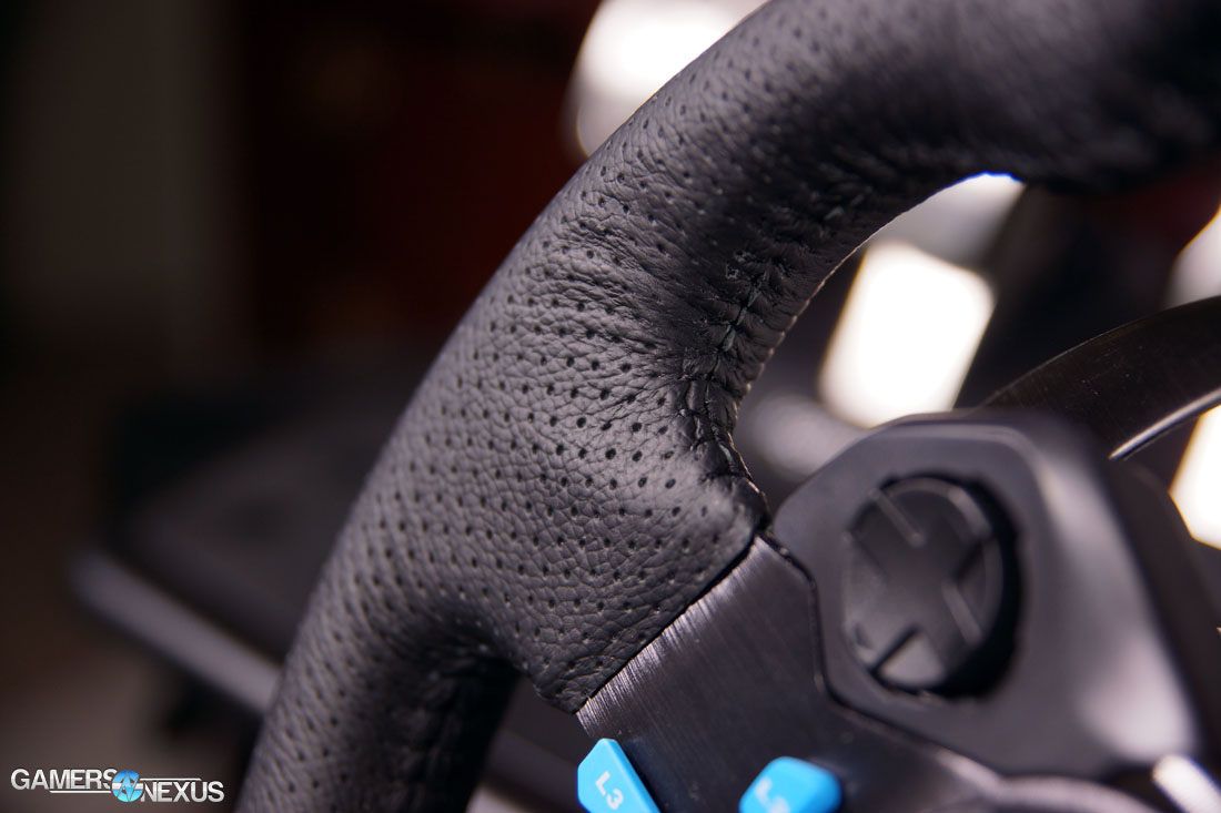 Logitech G29 Driving Force Racing Wheel Review | GamersNexus