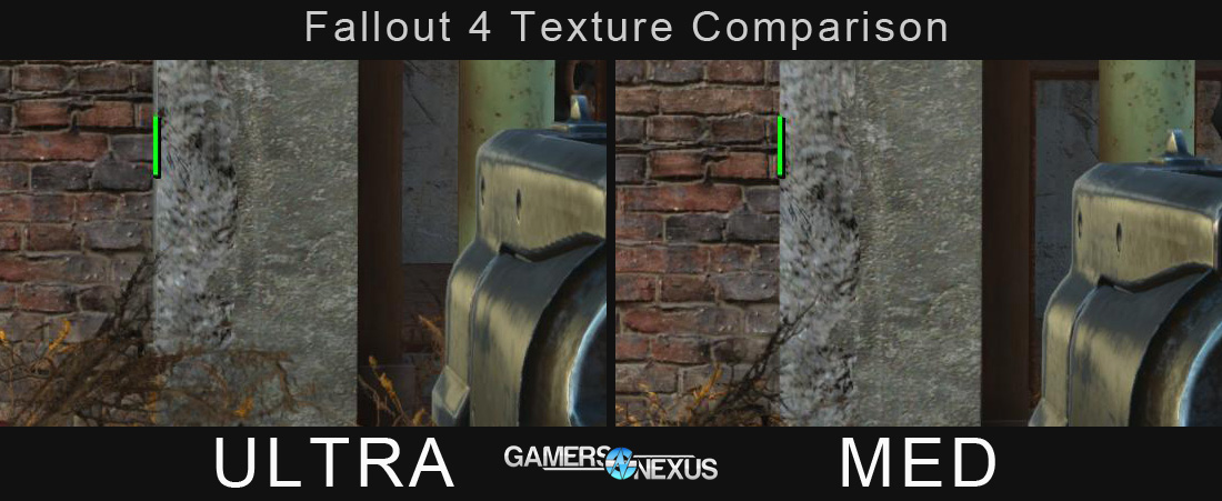 fallout 4 texture quality comparison  effectively zero difference