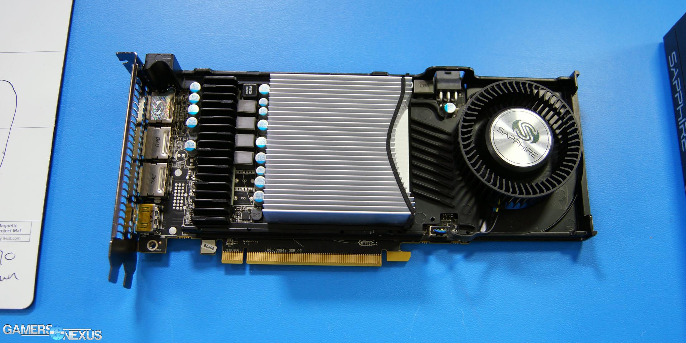 Sapphire RX 470 Platinum Tear-Down: Worse VRM & Cooler, Same