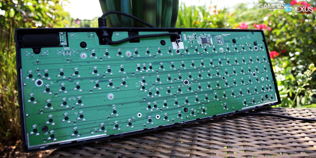 Logitech G610 Mechanical Keyboard Review & Tear-Down (MX Red