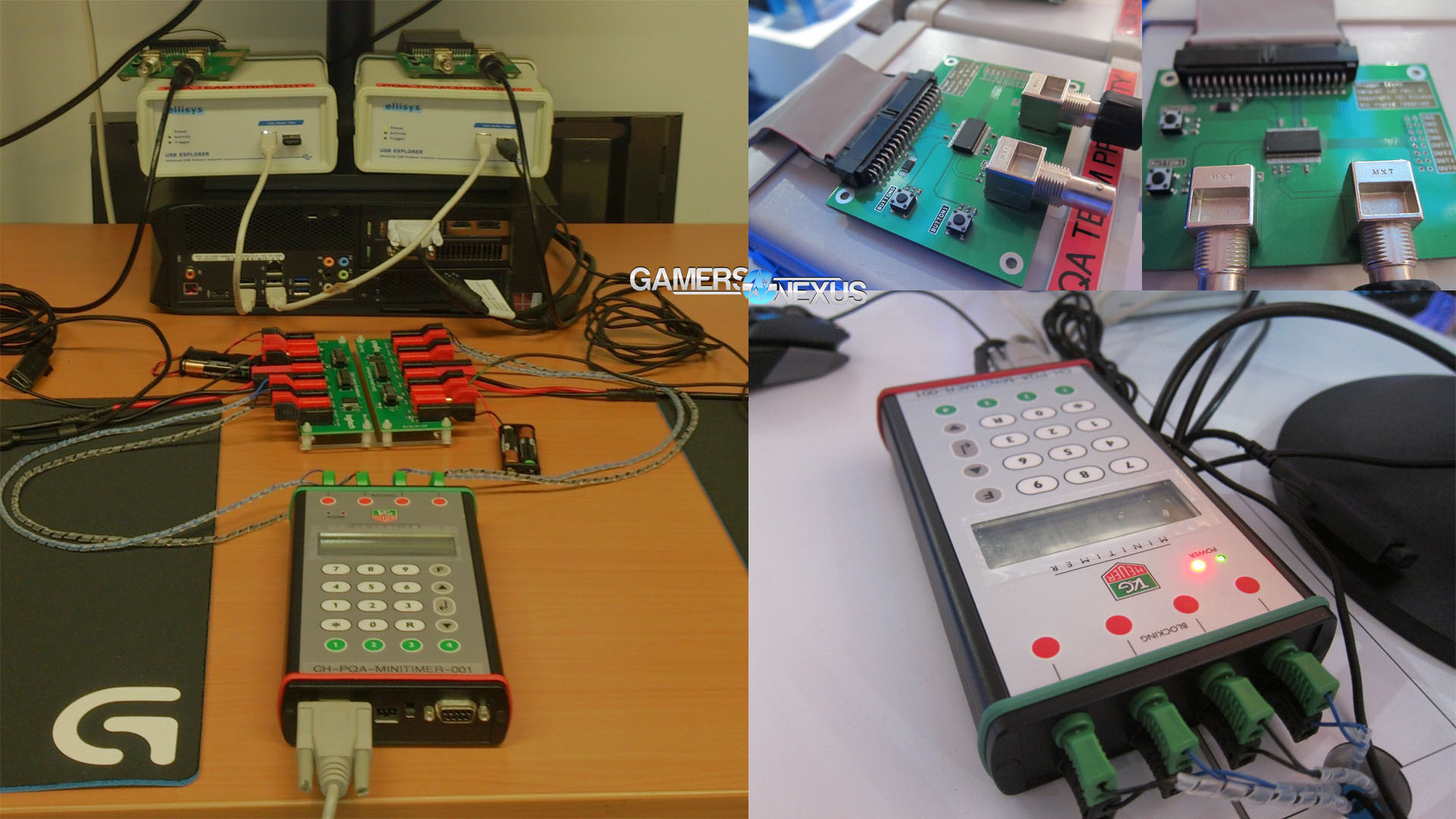 Wireless Mouse Click Latency Analysis Using Breadboard Usb Wiring Diagram Power Testing On Mice