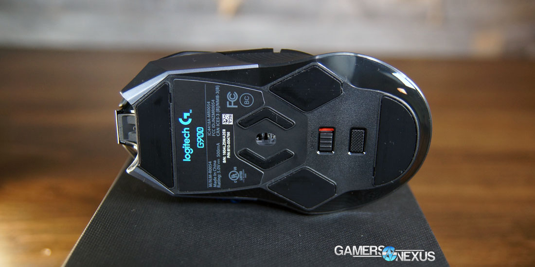 Logitech G900 Chaos Spectrum In-Depth Review & Mouse Tear