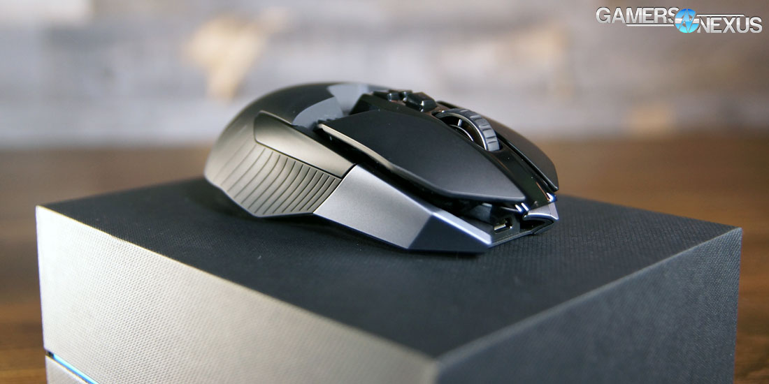 962ff079efb Logitech G900 Chaos Spectrum In-Depth Review & Mouse Tear-Down ...
