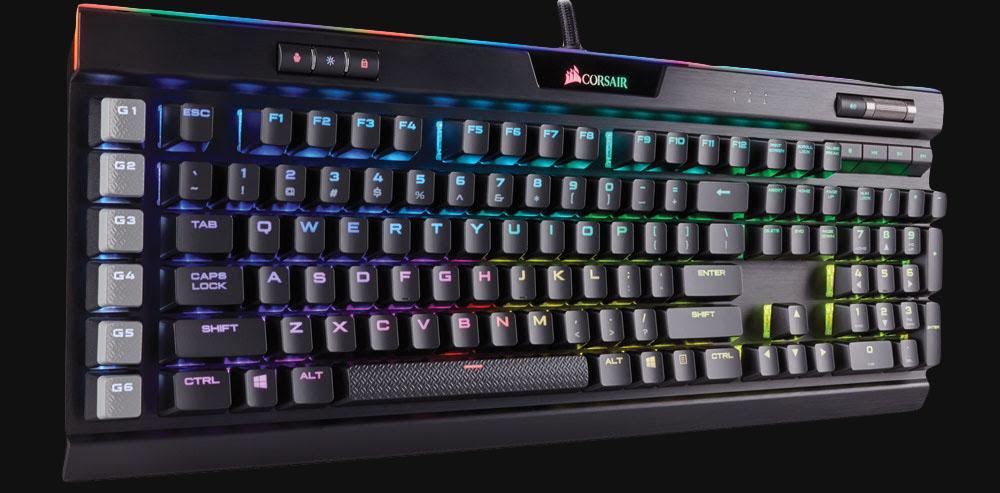Corsair RGB RAM, Scimitar Pro, K95 Platinum Keyboard, & Chair | CES