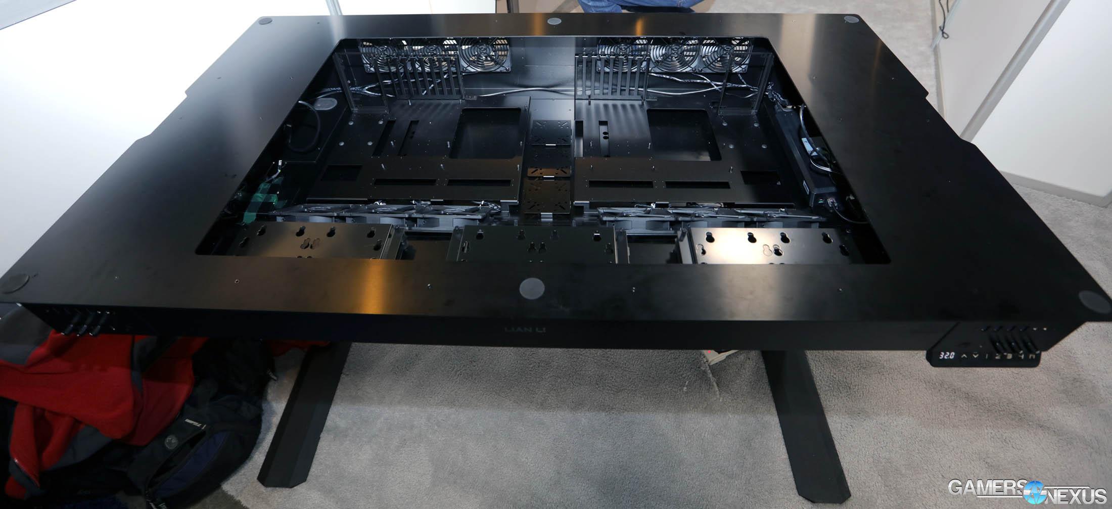 mirror infinity an build infinite desk deskcase musings case computer mod