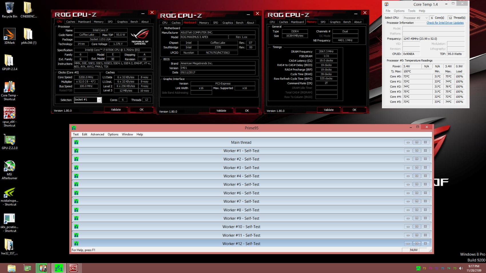 Intel i7-8700K Review vs  Ryzen: Streaming, Gaming, Delidding