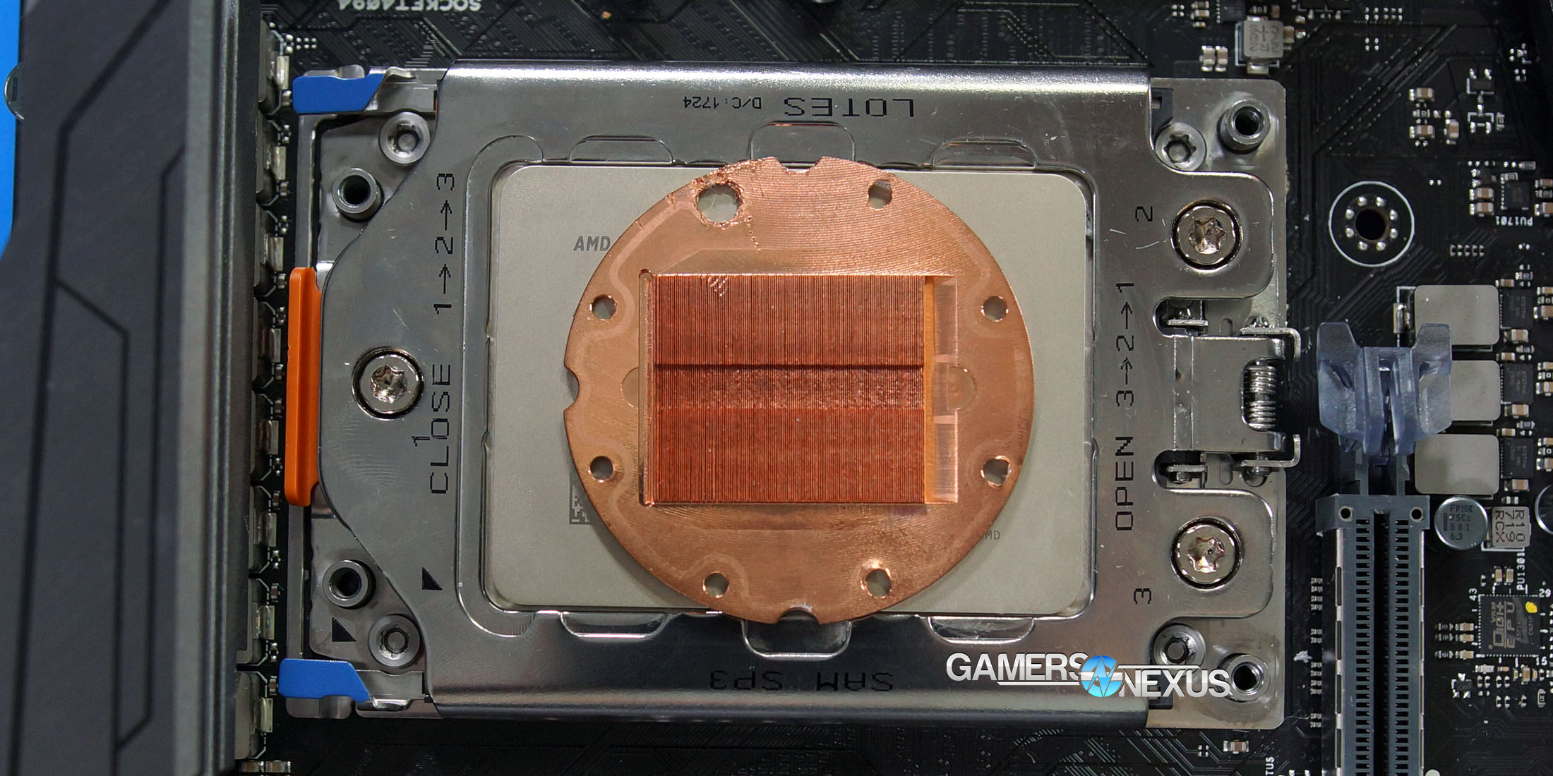amd threadripper coldplate 1
