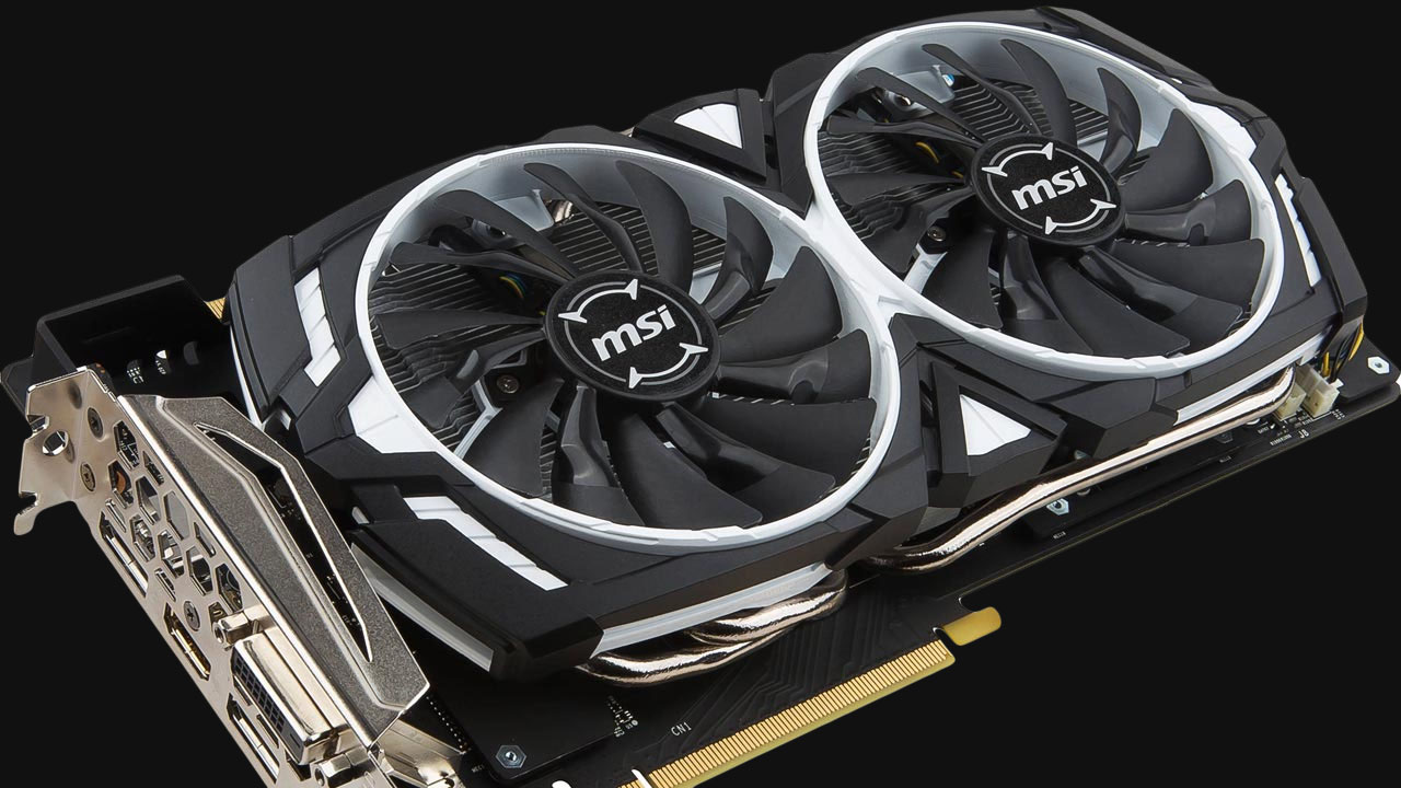 msi 1070 armor cooler