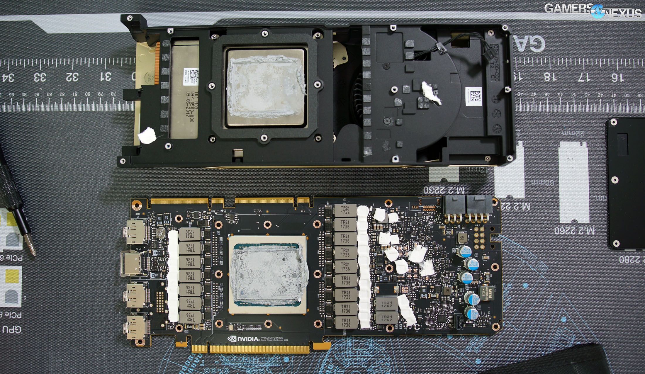 nvidia titan v teardown 3