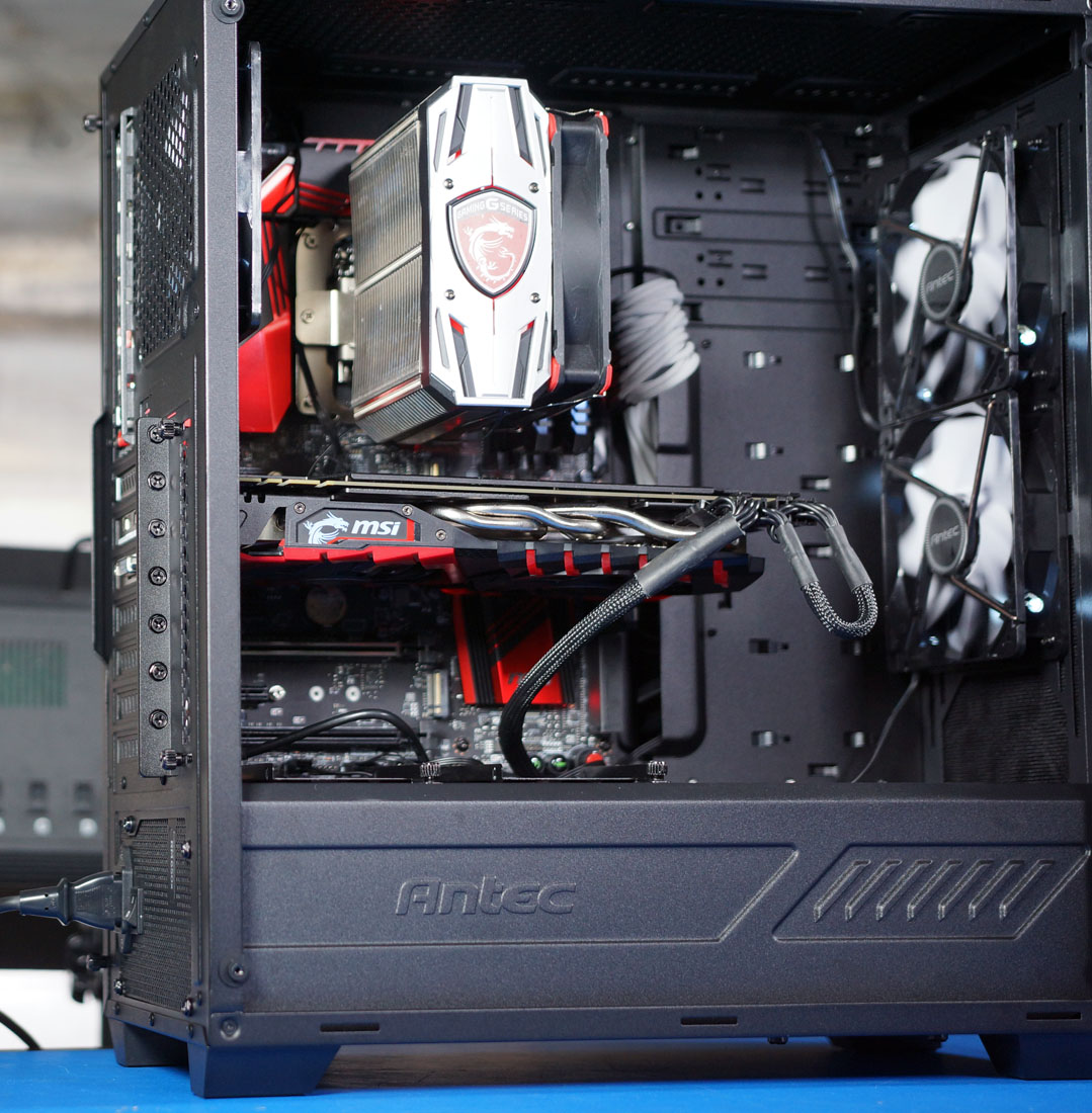 Antec P8 Tempered Glass Case Critical Review | GamersNexus
