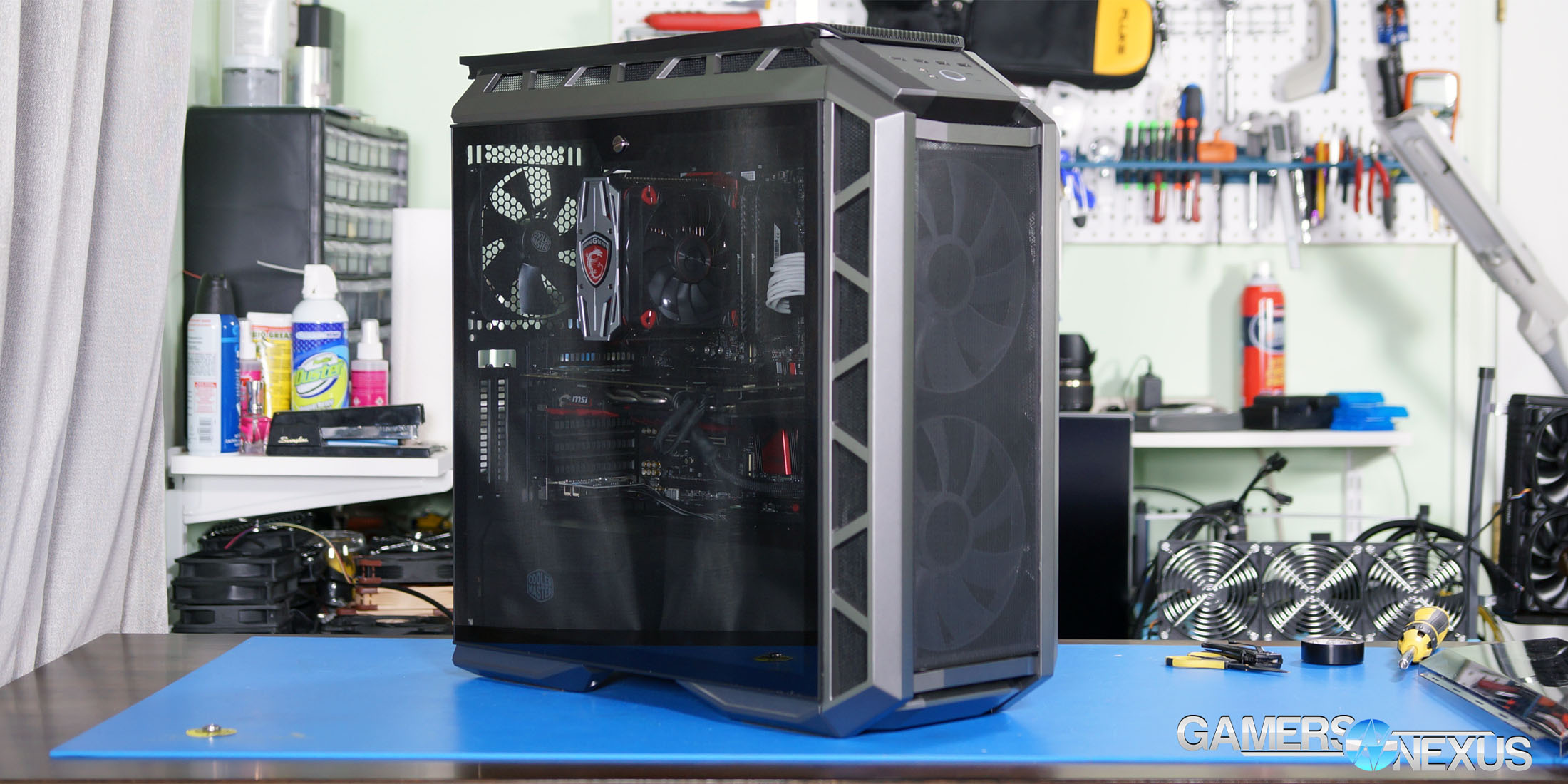 Project Haf Ify Mesh Cooler Master H500p Case Mod