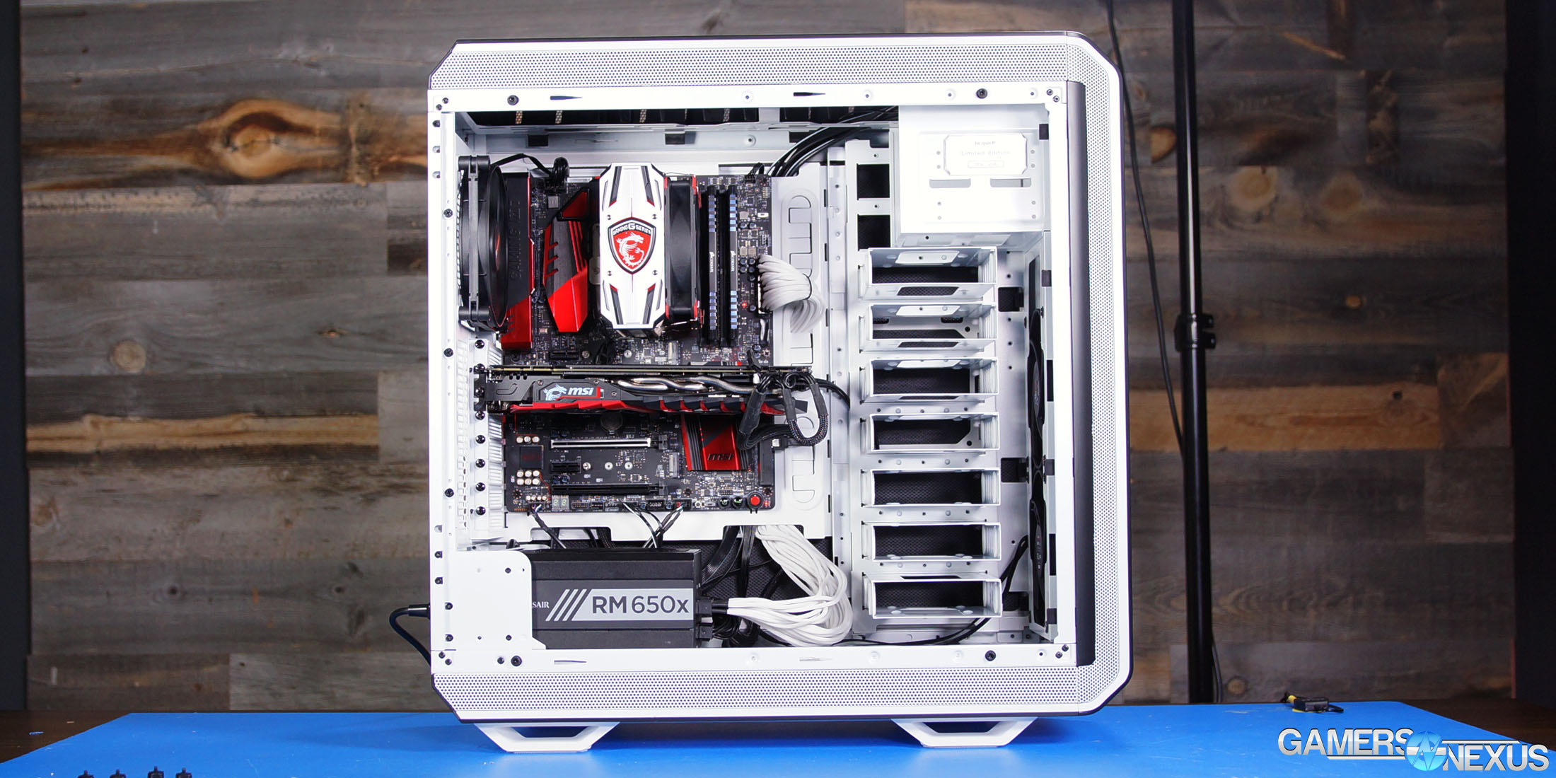 be quiet dark base pro 900 white build