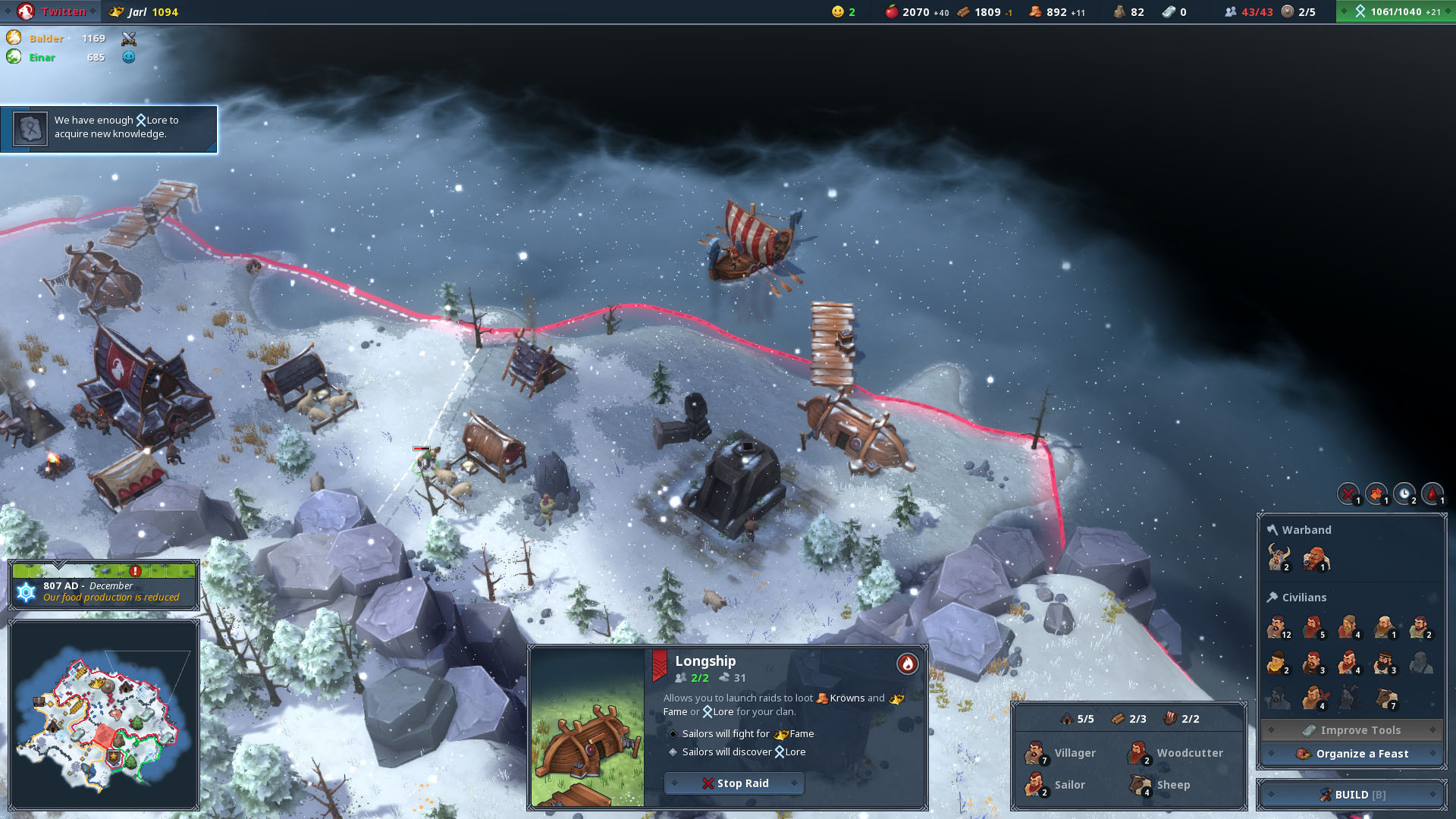 how to build a fishermans hut in northgard